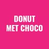 Donut met choco