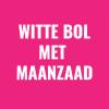 Witte bol maanzaad