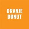 Oranje donut